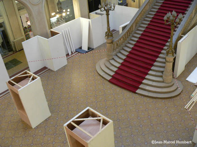 18 mars - poursuite de l'installation