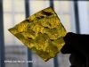 Fragment de verre de couleur