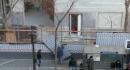 Dépose des palissades de chantier (bd Magenta)