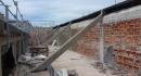 Reprise de l\'étanchéité de la fausse façade (niveau du toit  terrasse)