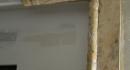 8 11 2012- tour de porte en faux-marbre à restaurer