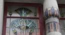 vitrail et colonne décorée de mosaïques 7 12 2012