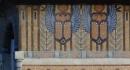 Frise de la corniche (terrasse) - scarabées ailés