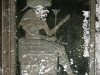 Porche d\'entrée : représentation de la déesse Tefnout