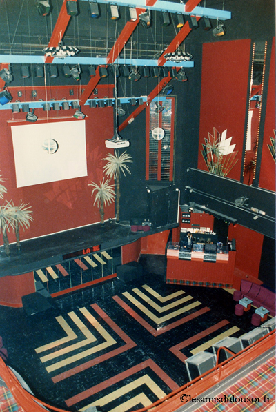 Le Louxor en 1986 : discothèque La Dérobade