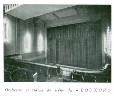 salle rénovée en 1954 (Pathé Magazine N°8)