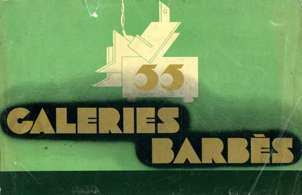 Catalogue des Galeries Barbès