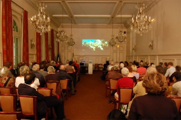 8 octobre 2009, Salle du conseil, Mairie du 9e. Photo Les Amis du Louxor