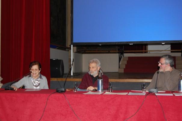 Jeannine Christophe (Histoire et Vies du 10e), Claude Aziza et Patrick Bousquet (Amis du Louxor)