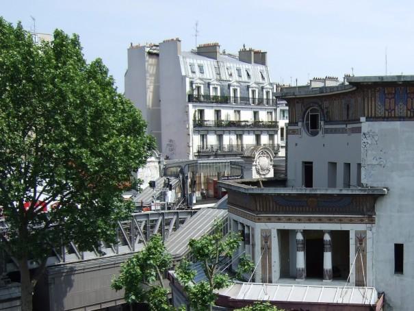 terrasse du futur café
