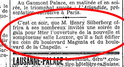 Le Figaro, 6 octobre 1921
