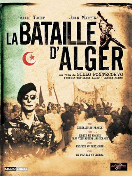 Affiche de La Bataille d'Alger (DVD CArlotta Films)