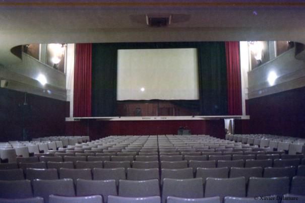 La salle au début des années 1980