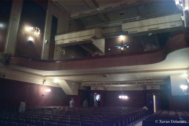 Fin de séance - La salle et ses deux balcons