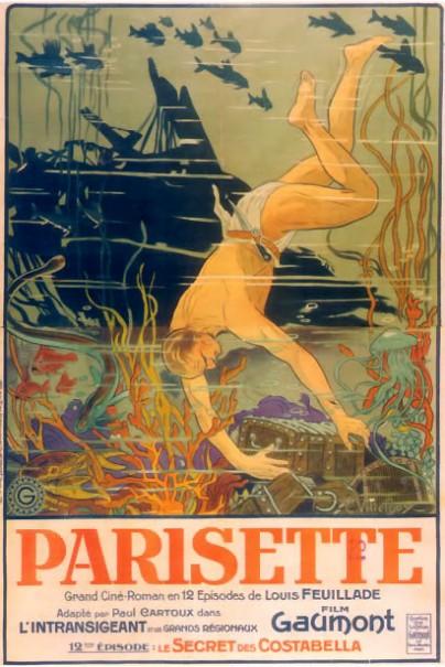 Parisette, de Louis Feuillade avec Sandra Milowanoff