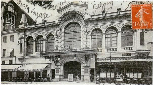 Tout proche du Louxor, le Trianon Lyrique, spécialisé dans l'opérette classique