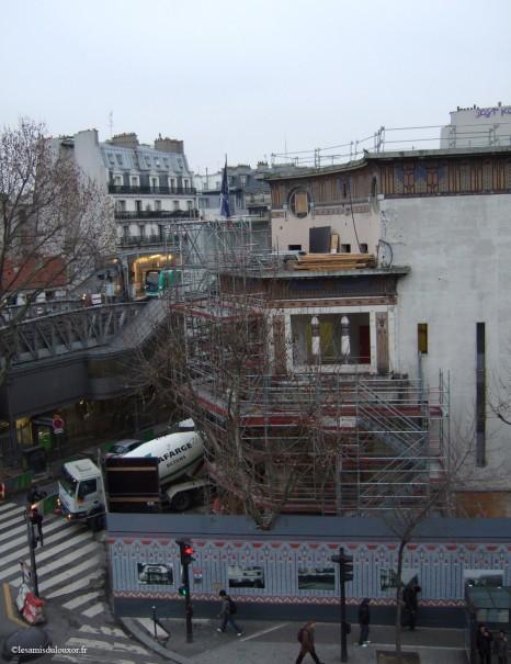 Vue du chantier - 27 janvier 2011