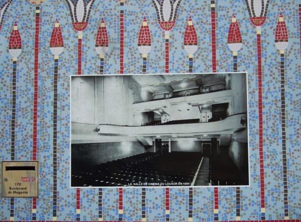 La salle et ses balcons en 1954