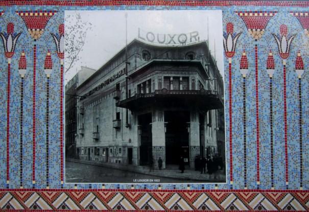 Le Louxor en 1922