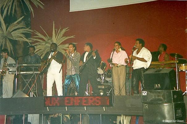 Concert de Kassav à la Dérobade