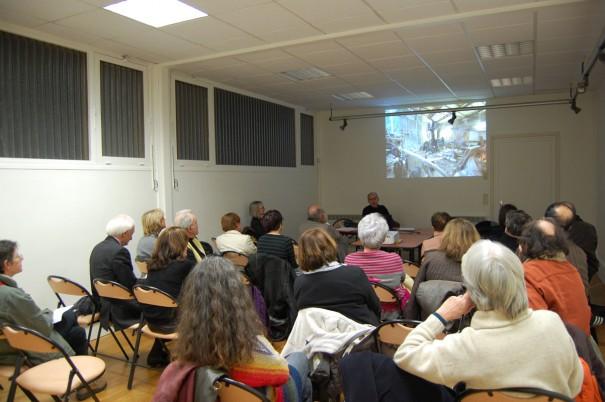 31 janvier 2011 - présentation des travaux par Philippe Pumain