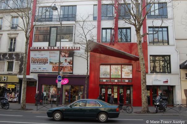 Le Cinéma des Cinéastes sur la très vivante avenue de Clichy