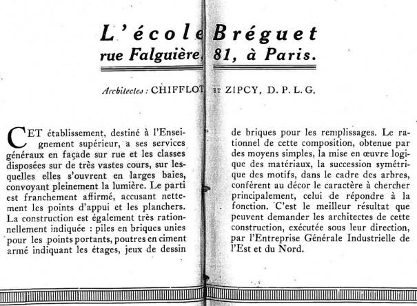 La Technique des travaux, année 1931 pages 64-65