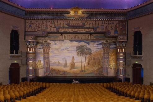 Rideau du Peery's Egyptian Theatre