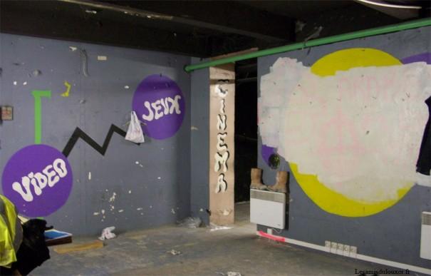 Sous-sol de Megatown (photo de 2010)