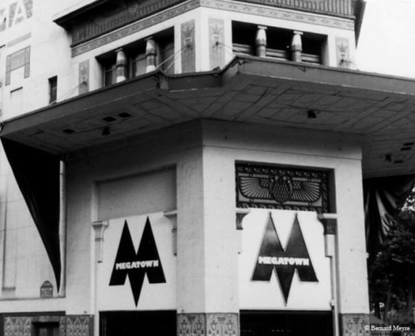 Megatown succède à la Dérobade (photo 1987)