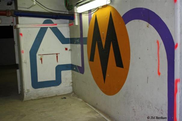 Sous-sol : sigle Megatown