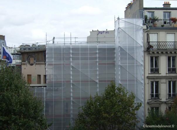 8 septembre 2011 : vue du chantier côté Magenta