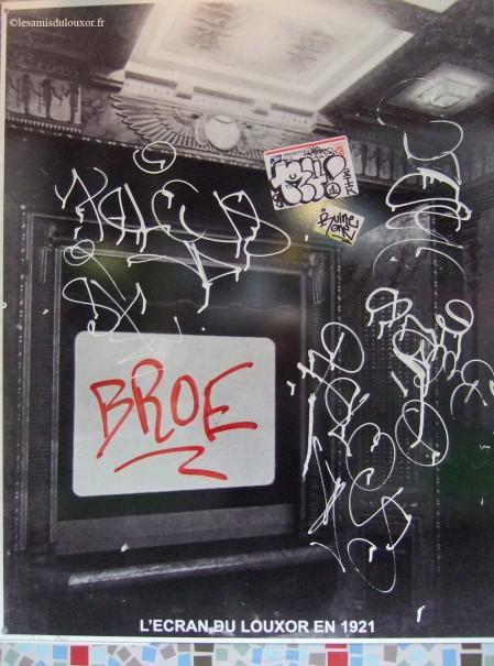 8 septembre 2011 ( dans le passage piéton côté boulevard de la Chapelle)