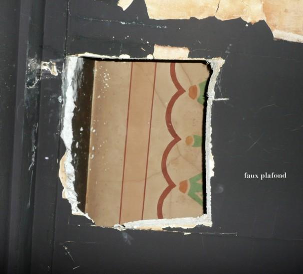 Louxor : Découverte d'un décor préservé caché dans le faux-plafond du 1er balcon