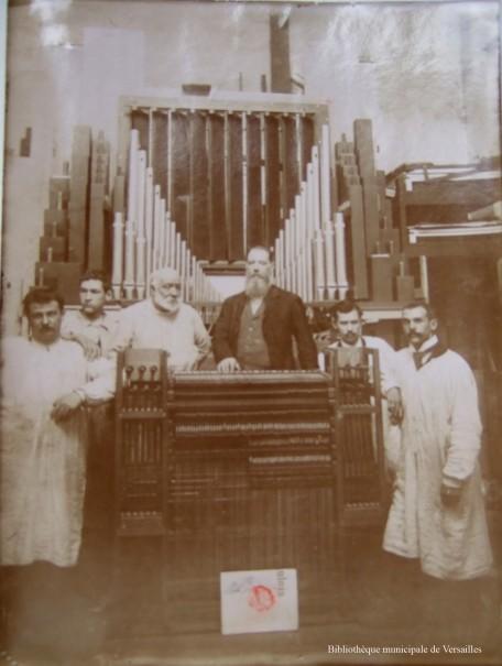 John Abbey et ses ouvriers