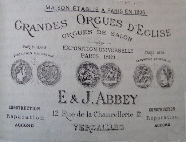 Publicité Abbey