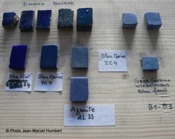 Tesselles 3 : céramiques glaçurées
