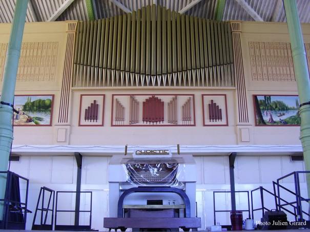 L'orgue Christie installé dans le Pavillon Baltard de Nogent-sur-Marne