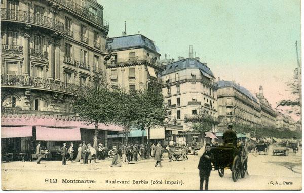 Carte postale : collection Nicole Jacques-Lefèvre