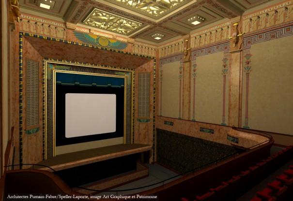 La future salle Youssef Chahine