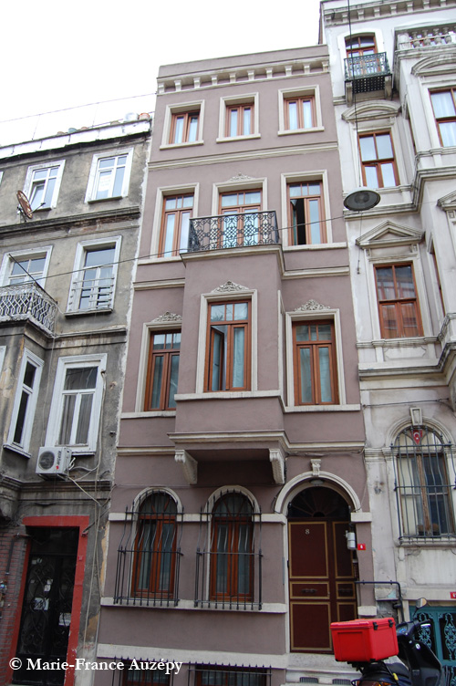 Le 82 de la rue Hamalbaşı