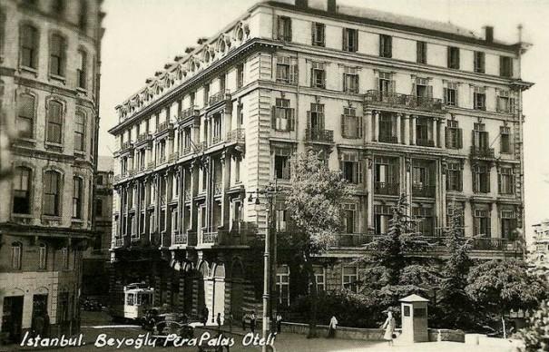 Le Pera palace, lieu de séjour d'Hemingway et Agatha christie