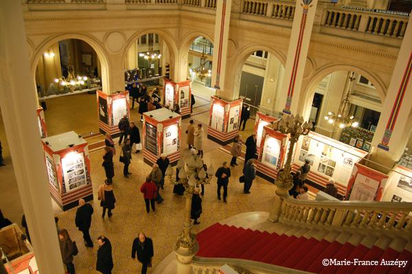 Exposition vue de la galerie