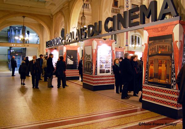 25 mars 2013 Entrée de l'exposition