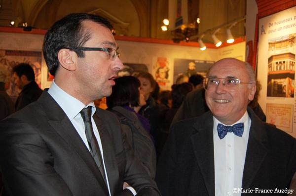 Rémi Féraud et Jean-Marcel Humbert