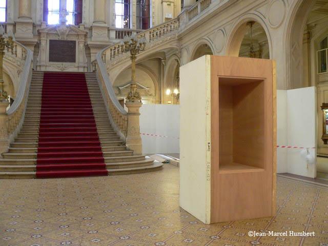 18 mars 2013 - montage de l'exposition