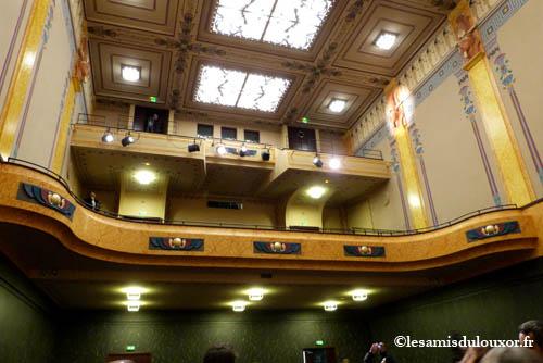 Les deux balcons de la salle Youssef Chahine