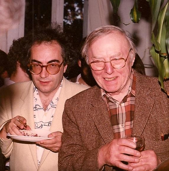 Paul Grimault et Jean-Pierre Pagliano en 1986 (DR)