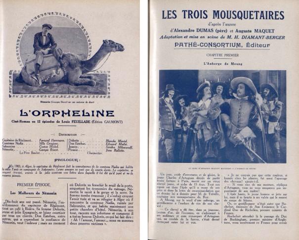 Cinémagazine, 21 octobre 1921 et 14 octobre 1921