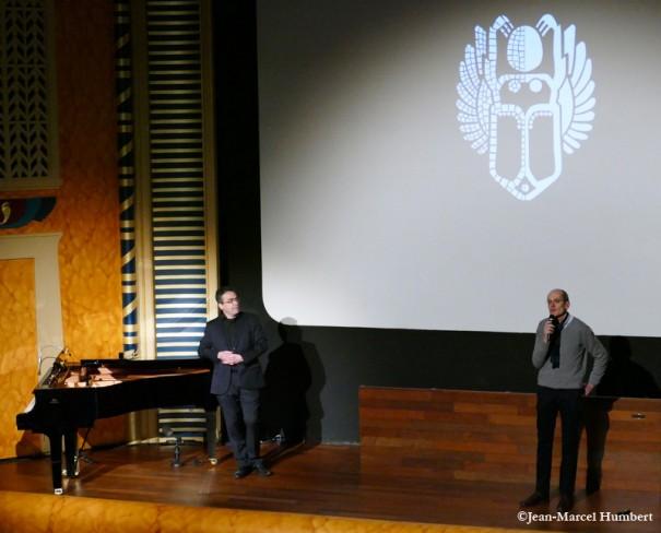 Serge Bromberg et Emmanuel Papillon, 15 mars 2015